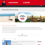 Virgin AU Round The World Economy Class: AU CITIES - Los Angeles - London - Hong Kong - from $999 @ Flight Centre