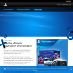 Win a PlayStation VR Prize Pack Worth $869.65 from Sony