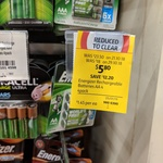 Energizer Recharge Extreme 2300mAh - AA 4 Pack $5.80 (Was $23.50) @ Coles - Nationwide Clearance (Spotted at Turramurra NSW)