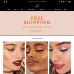 Free Shipping on Orders $10+, Free Eyeshadow Palette Worth $30 with $40+ Order, Sale Items from $2 @ e.l.f. Cosmetics