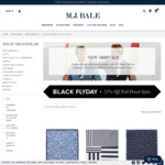 Black Flyday 25% off Full Priced Styles - Free Shipping on Domestic Orders over $100 @ MJ Bale