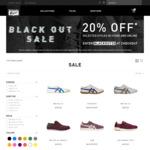 20% off Selected Styles @ Onitsuka Tiger