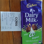 Cadbury Dairy Milk with CC's Originals or Kettle $1.50 @ Coles