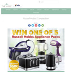 Win 1 of 5 Russell Hobbs Appliance Packs Worth $509.80 from Catch