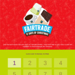 Win 1 of 12 Prizes from Fairtrade ANZ's 12 Days of Christmas Giveaway