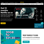 12 Month FREE NETFLIX with Samsung Galaxy S9, S9+, Note9 or Tab S4 on a 24 Month Plan @ Optus
