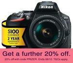 Nikon D5600 DSLR with 18-55mm VR Lens $644.68 ($544.68 after $100 Cash Back) - Australian Stock - Delivered @ No Frills eBay