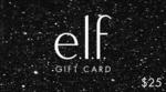40% off e.l.f. e-Gift Cards $15 for $25 Card, $30 for $50 Card, $60 for $100 Card 6 Month Validity @ e.l.f. Cosmetics