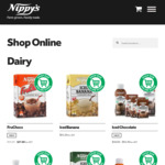 20% off First Order + Delivery (Free Pickup from Regency Park SA) @ Nippy's Online Store