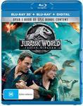 Jurassic World - Fallen Kingdom (3D Blu/Blu/Digital) $14.99 + Delivery (Free with Prime/ $49 Spend) @ Amazon AU