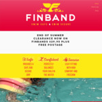End of Summer Clearance - Finband Kids Swimming Floaties Now $29.95 (Over 50% off) + Free Shipping @ Finband