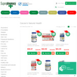 1/2 Price Caruso's Natural Health Vitamins, Free Shipping over $50 @ Superpharmacy