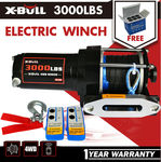 X-BULL 3000LBS /1361KGS Electric Winch Synthetic Rope12V10M Wireless ATV 4WD $106.11 Delivered @ X-BULL eBay