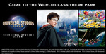 Win 1 of 2 Trips to Universal Studios Japan Worth Up to $4,000 from G'Day Japan