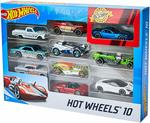 Hot Wheels 10Pk $9.50 + Delivery  (Free with Prime) @ Amazon AU