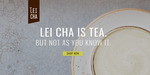 Free Lei Cha Tea Samples Delivered for First 1000 Signups @ Lei Cha