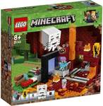 LEGO Minecraft The Nether Portal - 21143  $39  (Was $69), Crate Creatures Surprise Blizz - Assorted* $15 (Was $39) @ Big W