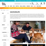 20% off Savourlife Dog Food (2.5kg - $24.79, 10kg - $75.99) and Treats + Free Delivery Over $29 @ Pethouse