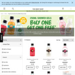 Buy One Get One Free 250ml Shower Gels $12 + Bath Lilies $2.50 (Save $2.50) @ The Body Shop