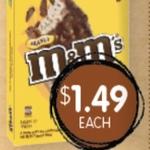[WA] M&M's Peanut Ice Cream Sticks 4 Pack $1.50 @ Spudshed