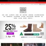 25% off Everything (Post $12.95 Reg, $19.95 Express) @ Original Ugg Boots