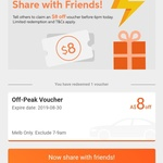 [VIC] Free $8 Ride Voucher 4pm - 6pm Today Only @ DiDi Melbourne