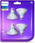 Philips LED Classic MR16 Downlight 4 Pack $16 (Normally $32) + Delivery ($0 with Prime/ $39 Spend) @ Amazon AU