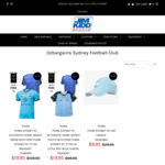 80% off Sydney Football Club Authentic Home Jersey with Free Tee (+ $15 Shipping or $0 Click & Collect) @ Jim Kidd Sports