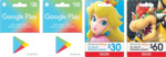 10% off Google Play and Nintendo eShop Cards @ Woolworths