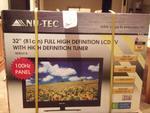 """NU-TEC 32"""" Full HD LCD TV for $289 at Coles Berwick - Eden Rise"""