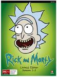 Rick and Morty Seasons 1-3 Blu-Ray with Collectors Art Book $59.20 + $1.69 Delivery / Pickup @ JB Hi-Fi