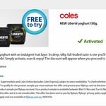 Collect 1 Free NEW Liberté Yoghurt 150g @ Coles via Flybuys