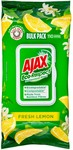Ajax Wipes Fresh Lemon 110 Pack $4.75 (Was $9.50) @ Big W