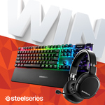 Win a SteelSeries Peripheral Bundle from PC Case Gear