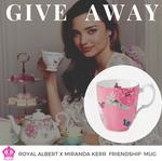 Win a Royal Albert x Miranda Kerr Friendship Vintage Mug from Mega Boutique