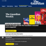 The Guardian Weekly $1 a Week for for 6 Weeks (Normally $10.95/Issue) @ The Guardian