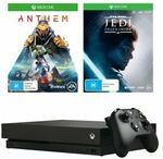 Xbox One X with Jedi Fallen Order and Anthem Tokens $̶3̶9̶9̶ or Xbox One S 1TB $259 Delivered @ Big W eBay AU