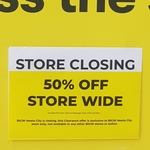 [NSW] Closing Down Sale - 50% off Storewide @ BIG W Fairfield, Chullora & Auburn