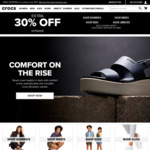 30% off Sitewide (Some Exclusions) & Free Delivery @ CROCS Australia
