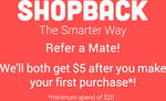 Amazon AU - $2 Bonus Cashback with $5 Spend @ ShopBack