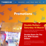 [NSW] Timezone - Load $50 Get $100, Load $100 Get $200 Credit (Limited Locations) - Sat March 14 Only