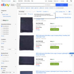 Kathmandu Microfibre Towels (Medium) $13.40 (RRP $39.99- $79.99) + $10 Shipping ($0 with Plus) @ Kathmandu eBay