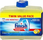 Finish Dishwasher Cleaner 2x 250ml $6.99 + Delivery ($0 with Prime/ $39 Spend) or $6.29 Delivered (Subscribe & Save) @ Amazon AU