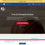 4 Months Free NBA League Pass (Premium) @ NBA.com
