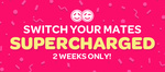 $100 Electricity Credit ($25 after 30, 90,180,270 Days) + $100 Referee + $100 Donation with Powershop Switch Your Mates