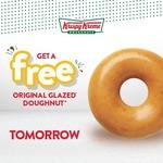 [SA] Free Original Glazed Doughnut @ Krispy Kreme SA (Excludes OTR Stores)