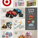 Target 2020 Mid Year Toy Sale (20% off LEGO, Fisher Price, Nerf)