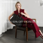 60% off All Handbags & Wallets + Free Shipping @ Clarence Frank Australia