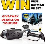 Win a VRSE Batman VR set @ Sanity
