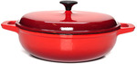Classica 30cm Cast Iron Braiser Saute Pan $69.99 / 28cm Cast Iron Dutch Oven $69.99 + Shipping @ Catch